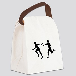 Relay race Canvas Lunch Bag
