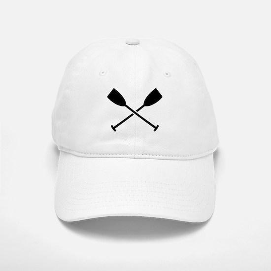 Crossed Paddles Baseball Baseball Cap