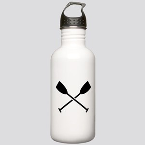 Crossed Paddles Stainless Water Bottle 1.0L