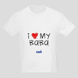 Kids I Love My Baba T-Shirt