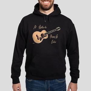 Playing My Guitar Hoodie (dark)
