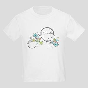 Aruba Floral Beach Graphic T-Shirt