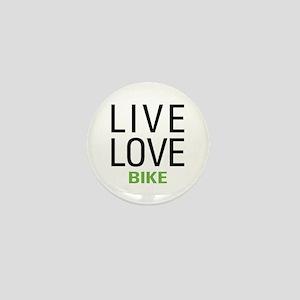 Live Love Bike Mini Button
