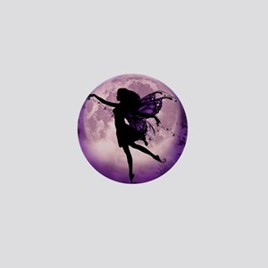 Midnight Stroll Fairy Mini Button