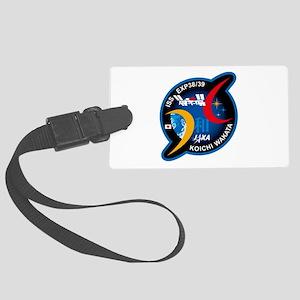 Wakata 39 Soyuz Large Luggage Tag