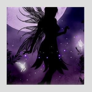 Dancing in the Moonlight Tile Coaster