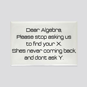 Dear Algebra Magnets