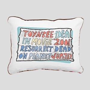 Toynbee Idea Tile Rectangular Canvas Pillow