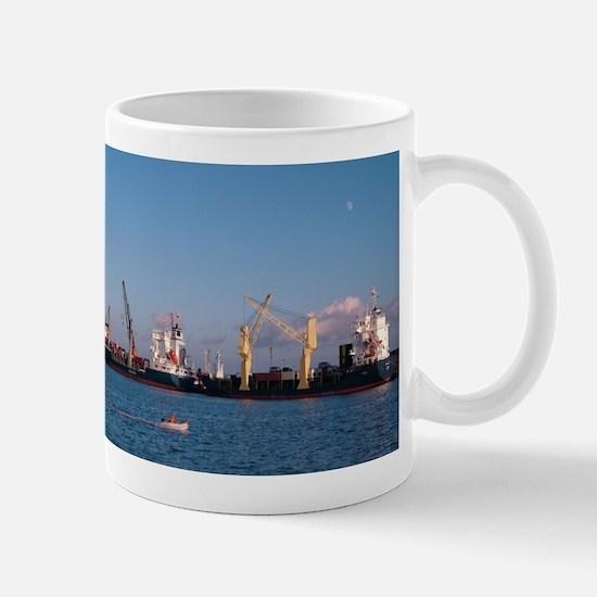 Cargo ships Mugs