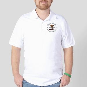 C'mon, lard ass design. Golf Shirt