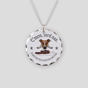 C'mon, Lard Ass Design. Necklace Circle Charm