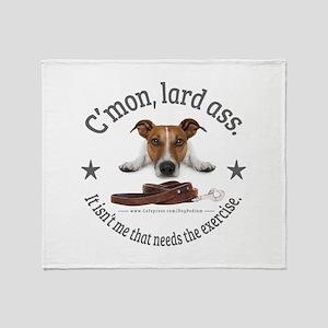 C'mon, lard ass design. Throw Blanket