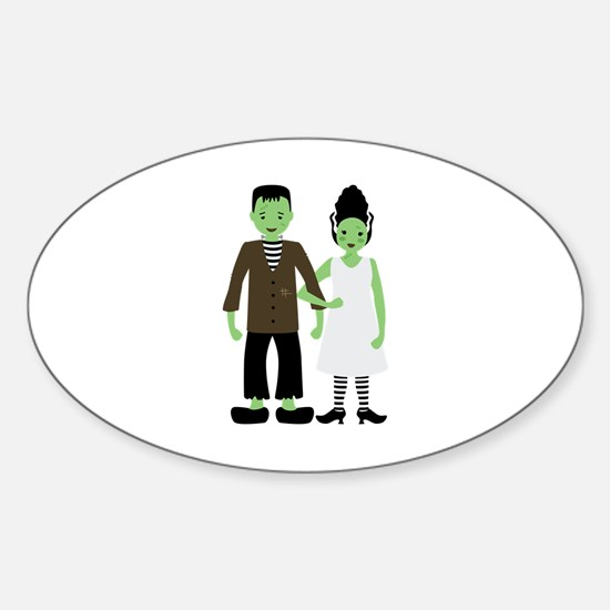 Frankenstein Bride Decal