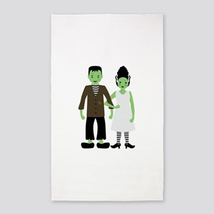 Frankenstein Bride 3'x5' Area Rug