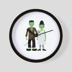 Frankenstein Bride Wall Clock
