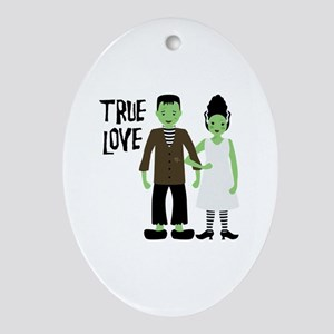 True Love Ornament (Oval)
