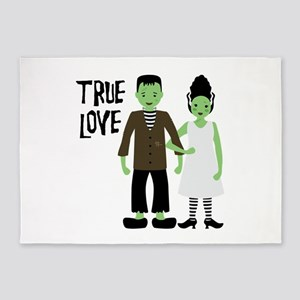 True Love 5'x7'Area Rug