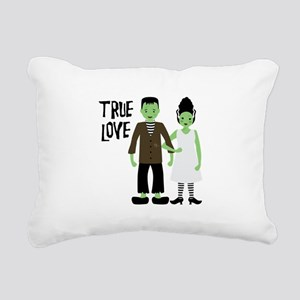 True Love Rectangular Canvas Pillow