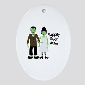 Happily Ever After Oval Ornament