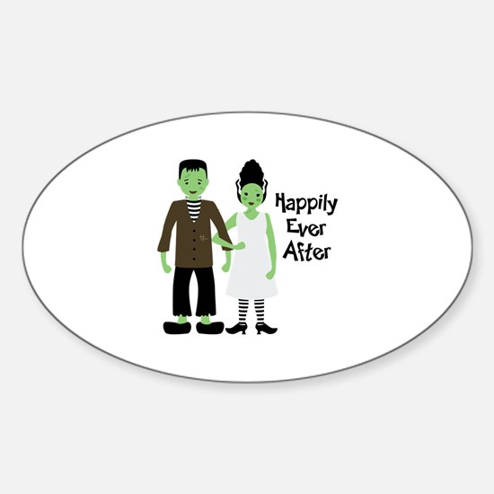 Happily Ever After Sticker (Oval)