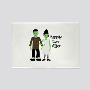Happily Ever After Rectangle Magnet