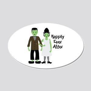 Happily Ever After 20x12 Oval Wall Decal