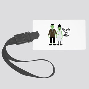 Happily Ever After Large Luggage Tag