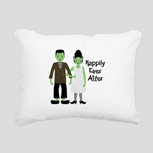 Happily Ever After Rectangular Canvas Pillow