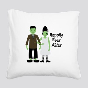 Happily Ever After Square Canvas Pillow
