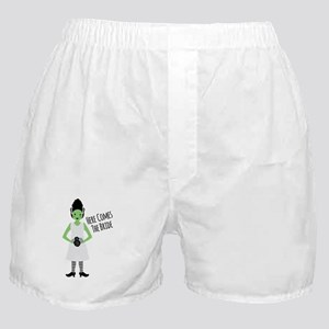 Here Comes The Bride Boxer Shorts