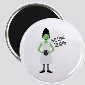 Here Comes The Bride Magnets