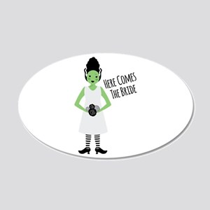 Here Comes The Bride Wall Decal