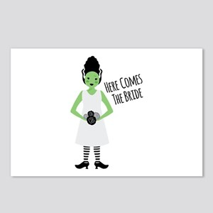 Here Comes The Bride Postcards (Package of 8)