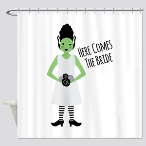 Here Comes The Bride Shower Curtain