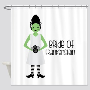 Bride Of Frankensien Shower Curtain