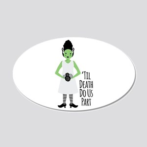 Til Death Do Us Part Wall Decal