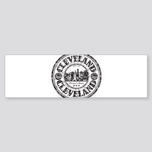 Cleveland Stamp Bumper Sticker