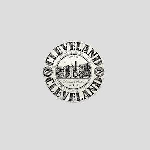 Cleveland Stamp Mini Button