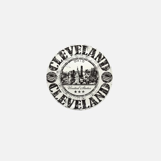 Cleveland Stamp Mini Button