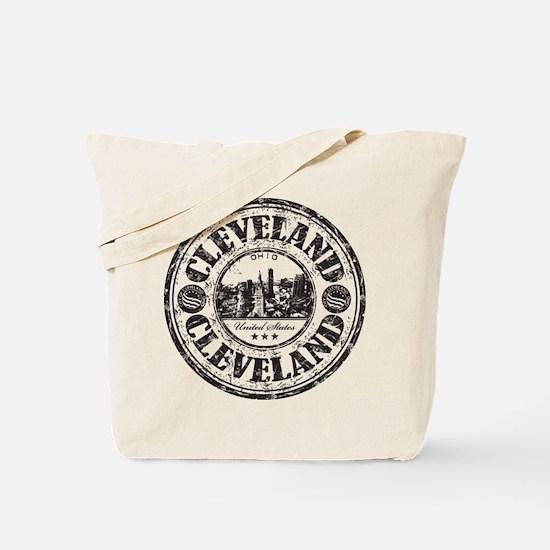 Cleveland Stamp Tote Bag