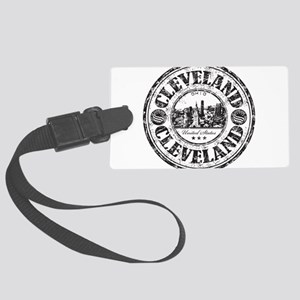 Cleveland Stamp Luggage Tag