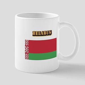 Belarus With Text Mug