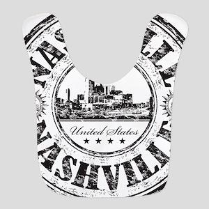 Nashville Stamp Bib