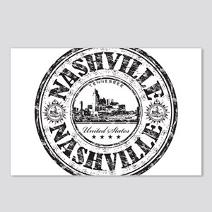Nashville Stamp Postcards (Package of 8)