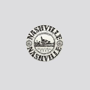 Nashville Stamp Mini Button
