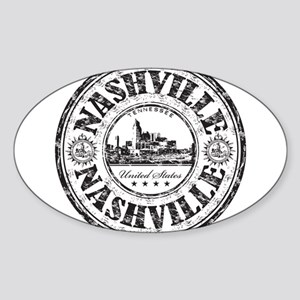 Nashville Stamp Sticker