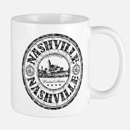 Nashville Stamp Mugs