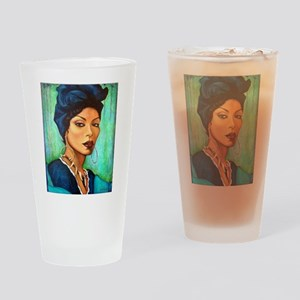 Voodoo Queen Drinking Glass