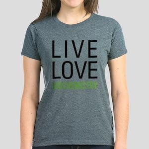Live Love Biochemistry Women's Dark T-Shirt