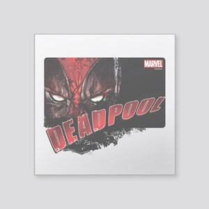 "Sinister Deadpool Square Sticker 3"" x 3"""